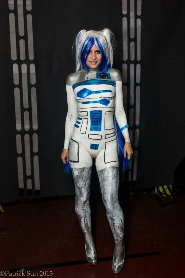 R2d2 Artist Antonio Tiggs Paint Liquid Latex Photographer Patrick Sun Photography Body