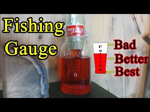 How to build a fishing gauge: Best times to fish | HOW TO