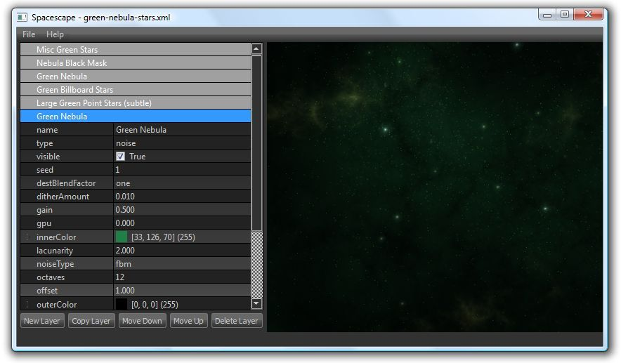 Spacescape - cube map generator for space skyboxes | Game