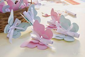 Decoração de Festas By Catia Lins: Tema borboleta