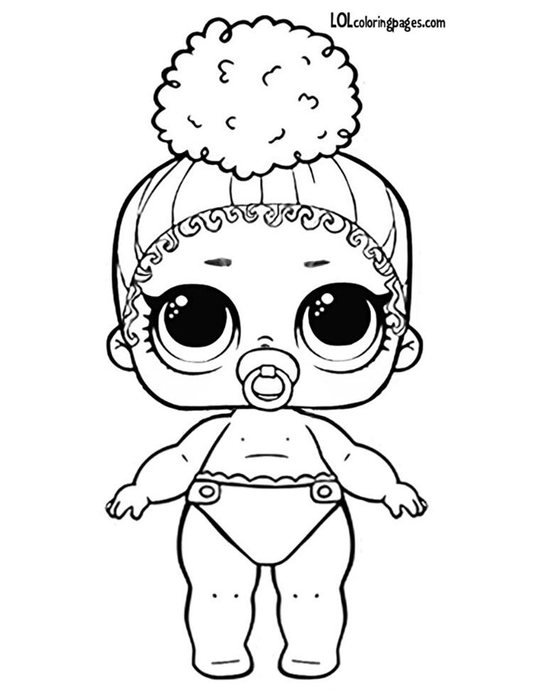 Lolcoloringpages Com Lil Boss Queen Lol Coloring Page Coloring Pages Barbie Coloring Pages Bee Art
