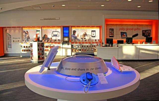 Interior Design Virgin Mobile Retail Store