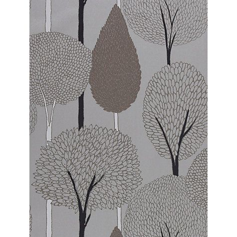 Buy Harlequin Silhouette Wallpaper, Truffle 60116 Online at johnlewis.com