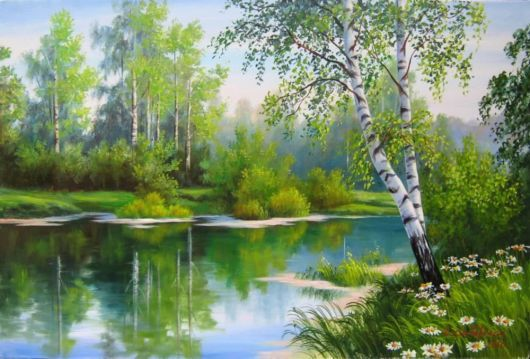 Pin By Marilyn Banks On Paintings Nature Paintings Landscape Paintings Scenic Pictures