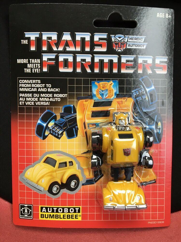 Transformers BUMBLEBEE Heroic Autobot G1 Minibot 2018 Walmart Reissue