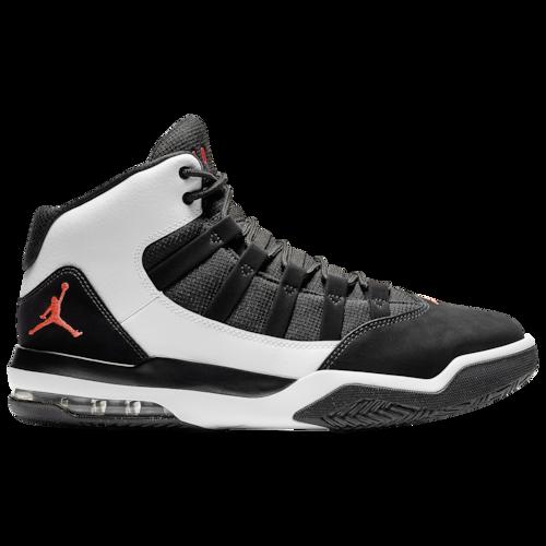Jordan Max Aura Casual Basketball Shoes White / Infrared
