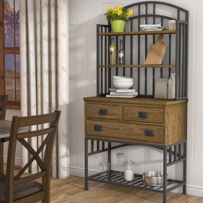 Red Barrel Studio Tramel Iron Baker S Rack Products Bakers