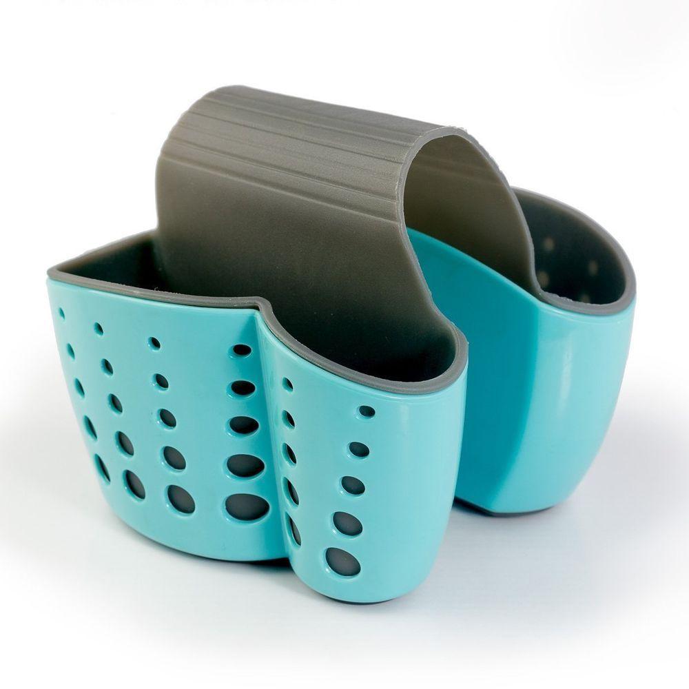 Sponge Sink Holder Caddy Holder for Kitchen Organization Plastic ...