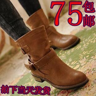 新款 女鞋 秋季短靴