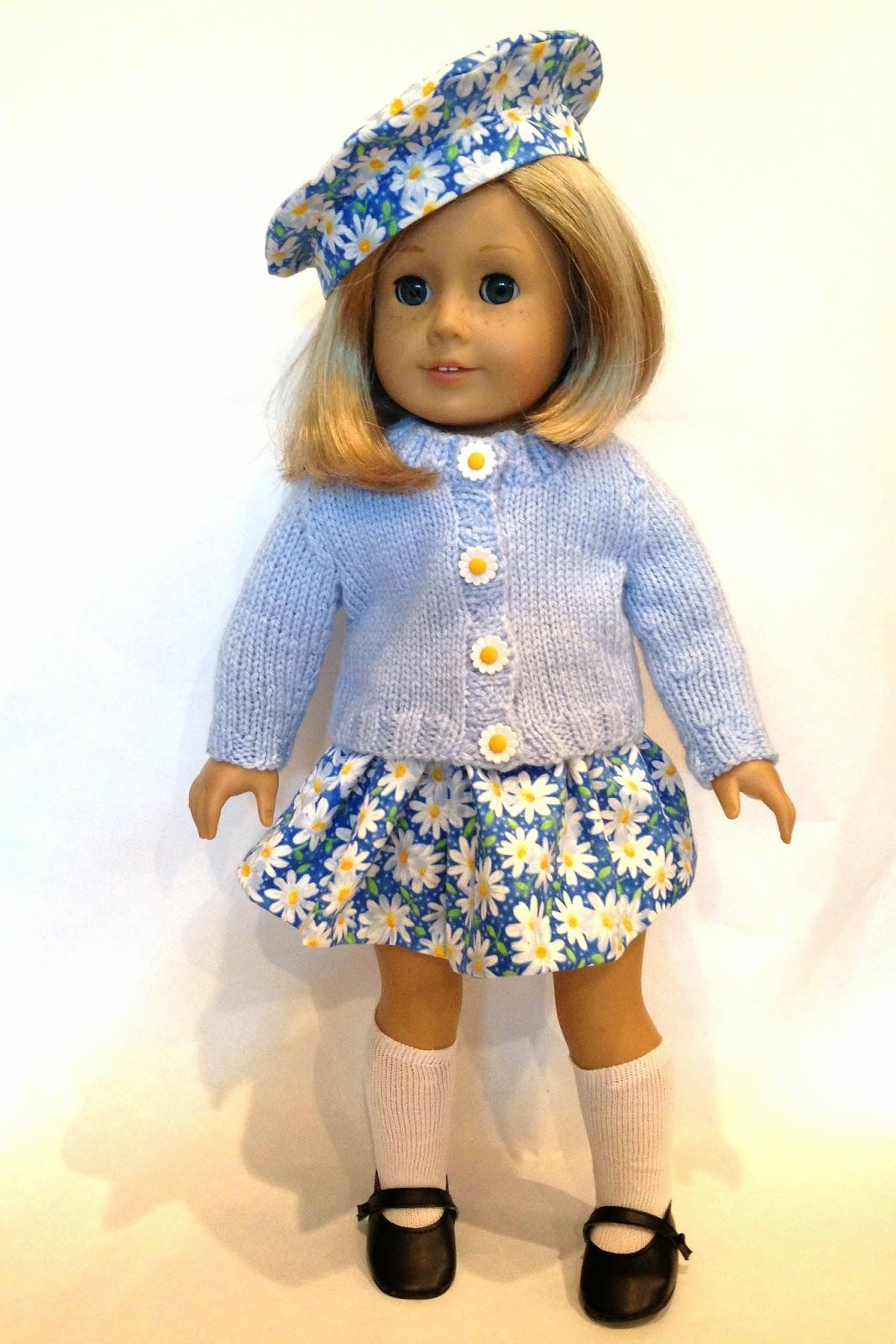 Knitionary: A gift for dolly: tam, skirt and sweater pattern, yours ...