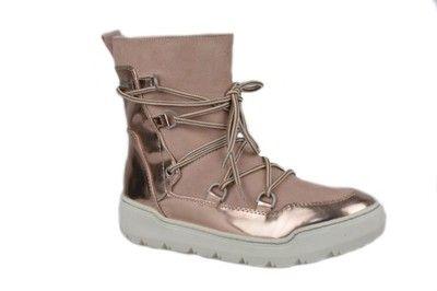 Sniegowce Kozaki Rozowe Tamaris R 37 26414 27 6614189831 Oficjalne Archiwum Allegro Boots Army Boot Combat Boots