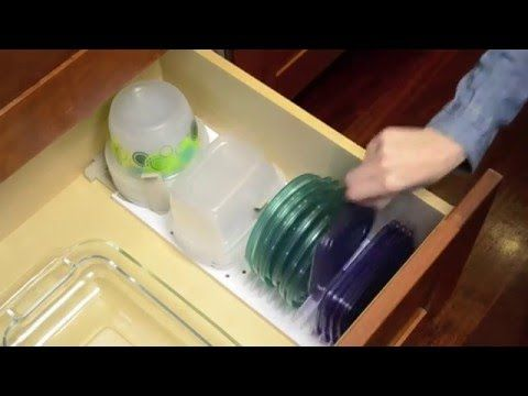 Kitchen Drawer Solution Youcopia Storastack Food Container Storage Organizer Food Storage Containers Youcopia Container