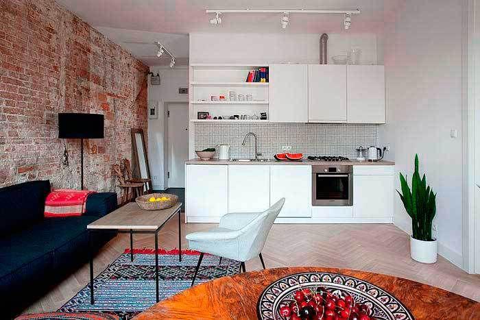 Un piso pequeño con grandes ideas - Decorar Mi Casa Loft studio