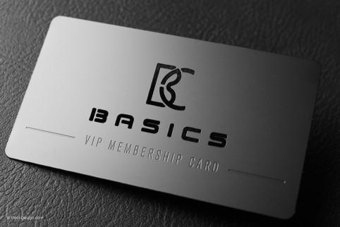 Vip Membership Black Metal Business Card With Laser Engraving Basics Metal Business Cards Luxury Business Cards Business Card Minimalist
