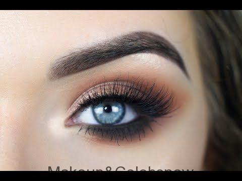 JACLYN HILL X MORPHE PALETTE  Warm Smokey Eye Makeup Tutorial  YouTube