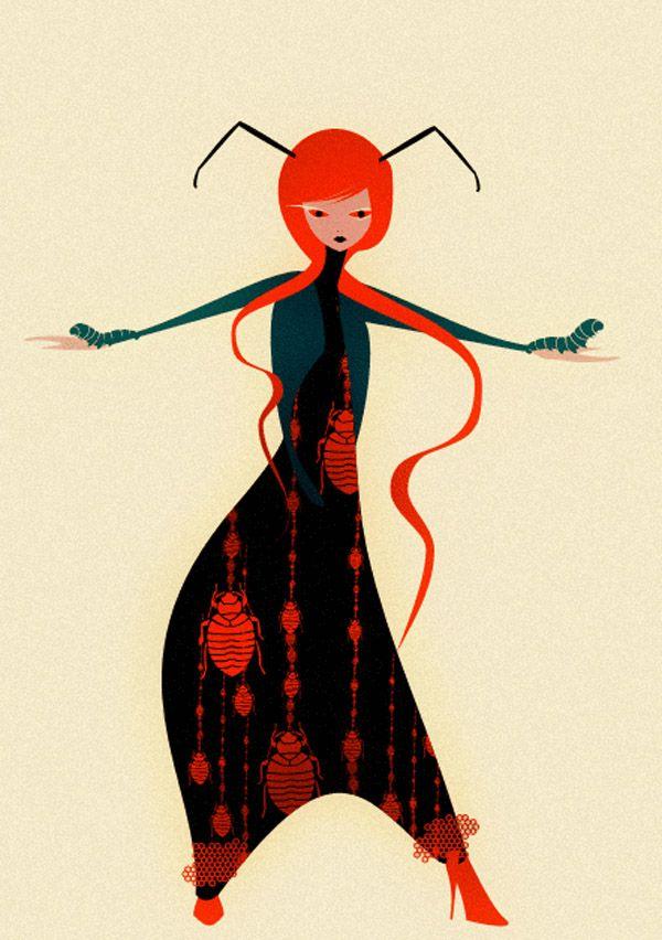 Cristian Grossi's New Fashion Illustrations