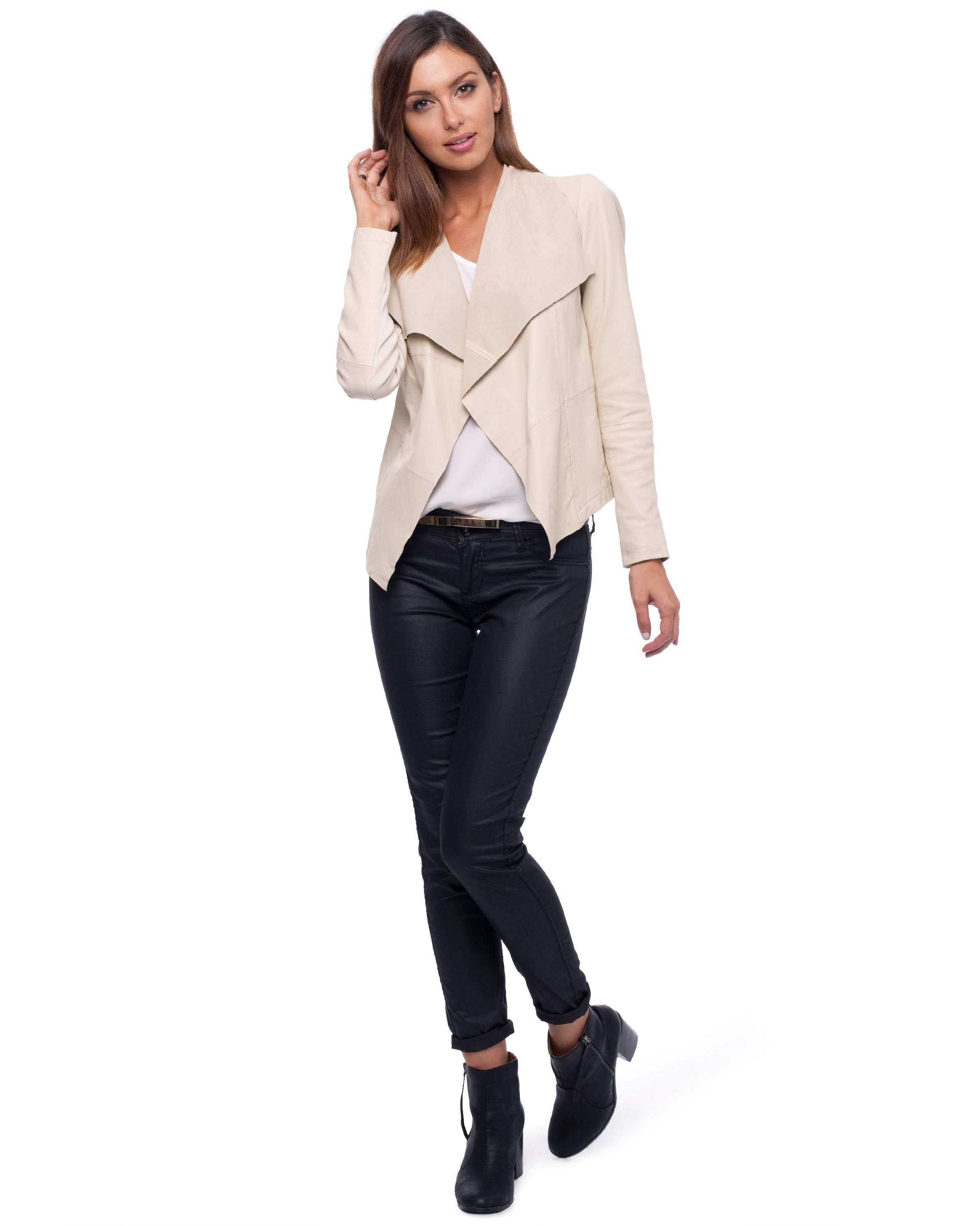 Leather jacket online australia - Ransom Leather Jacket By Decjuba Online The Iconic Australia