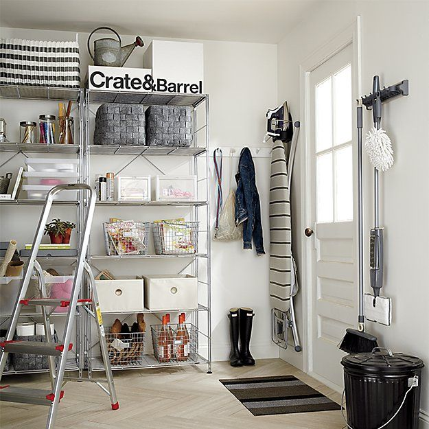 About Us Crate And Barrel Laundry Hamper Utility Room