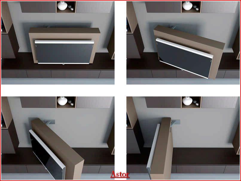 Mobili Porta Tv Ad Angolo Moderni.Porta Tv Orientabile Da 0 A 90 Gradi In Modo Semplice E Preciso