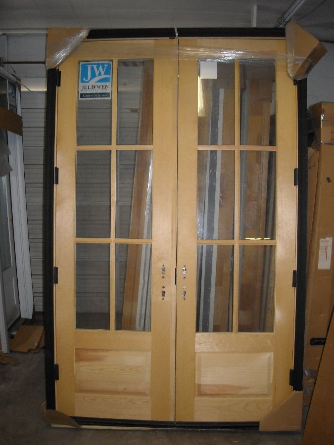 French Doors Jeld Wen Wood French Door Tamils Pinterest