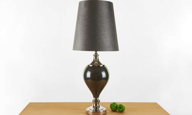 Perth Dark Grey Table Lamp Grey Table Lamps Table Lamp Grey Table