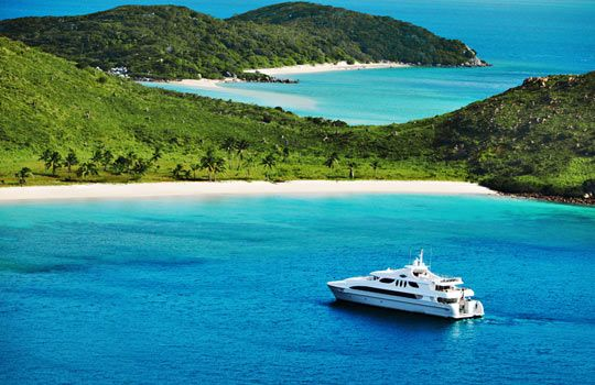 Sail, dive and snorkel the phenomenal Great Barrier Reef aboard Seafaris,  your own private 135-foot yacht. Dock at ultraexcl…   Travel, Dream  vacations, Travel news