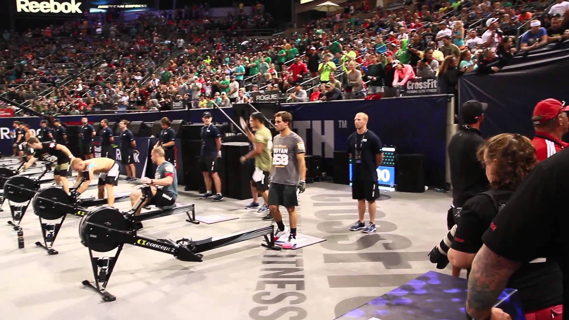 Reebok Crossfit Games 2013 Champions Jason Khalipa And Garret
