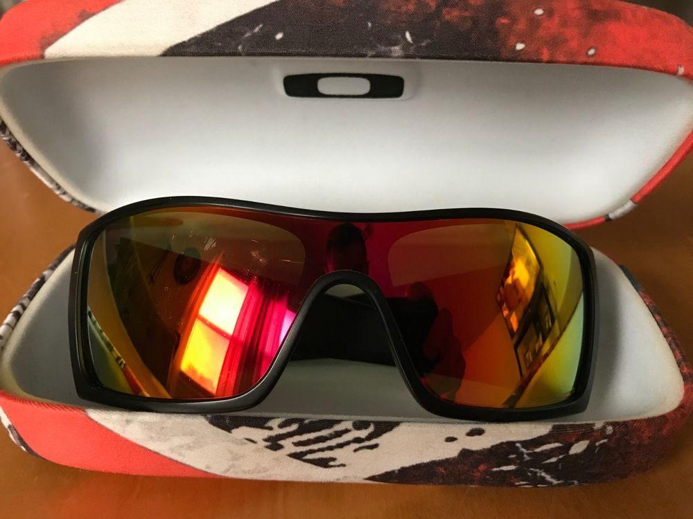 49c48f6021 Oakley BATWOLF Polarized Sunglasses OO9101-24 Matte Black/Fire Iridium  Orange #fashion #clothing #shoes #accessories #mensaccessories ...