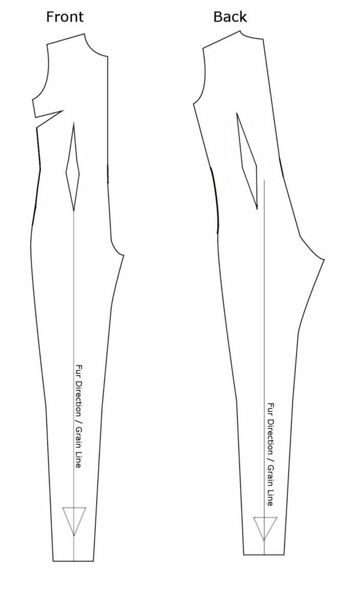 Basic Jumpsuit/Fullsuit pattern by CeshionCo on DeviantArt | Sewing ...