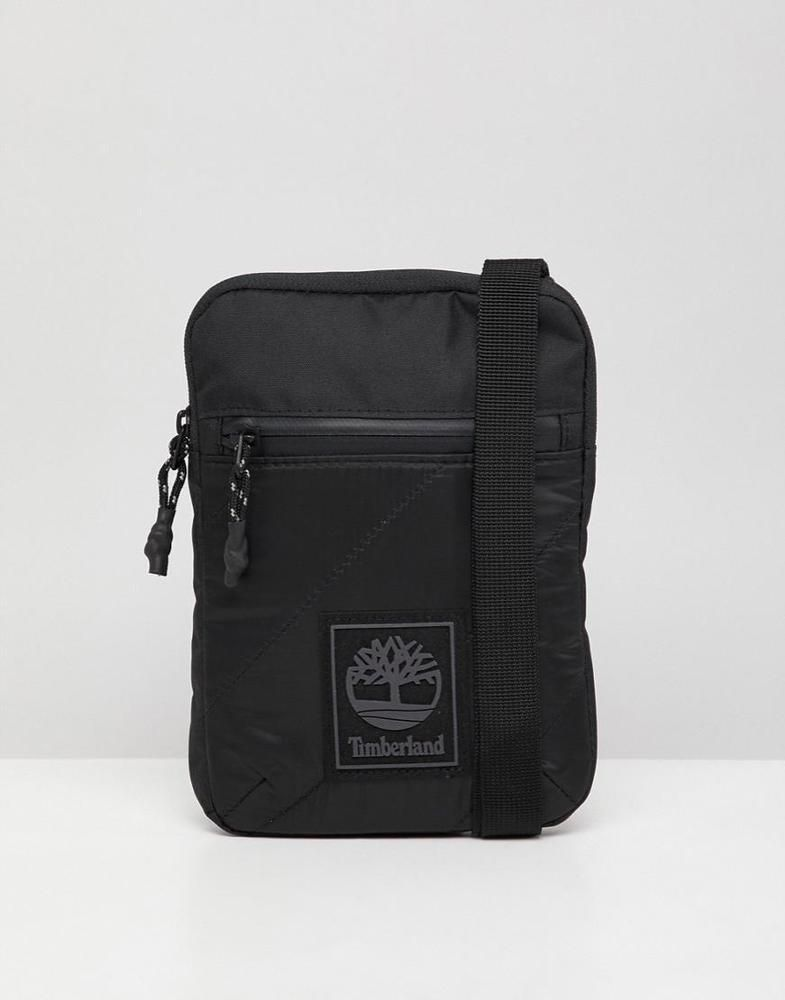 d936df8ca0a Timberland Slim Flight Shoulder Bag in Black | Clothing, Shoes &  Accessories, Men's Accessories, Bags | eBay!