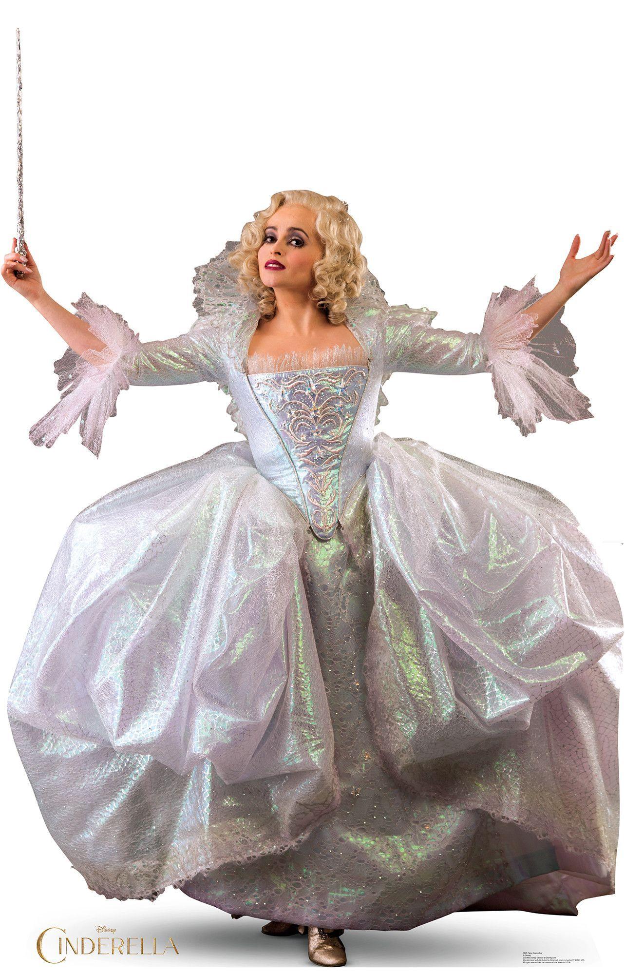 Cinderella 2015 Fairy Godmother Cardboard Standup Cinderella