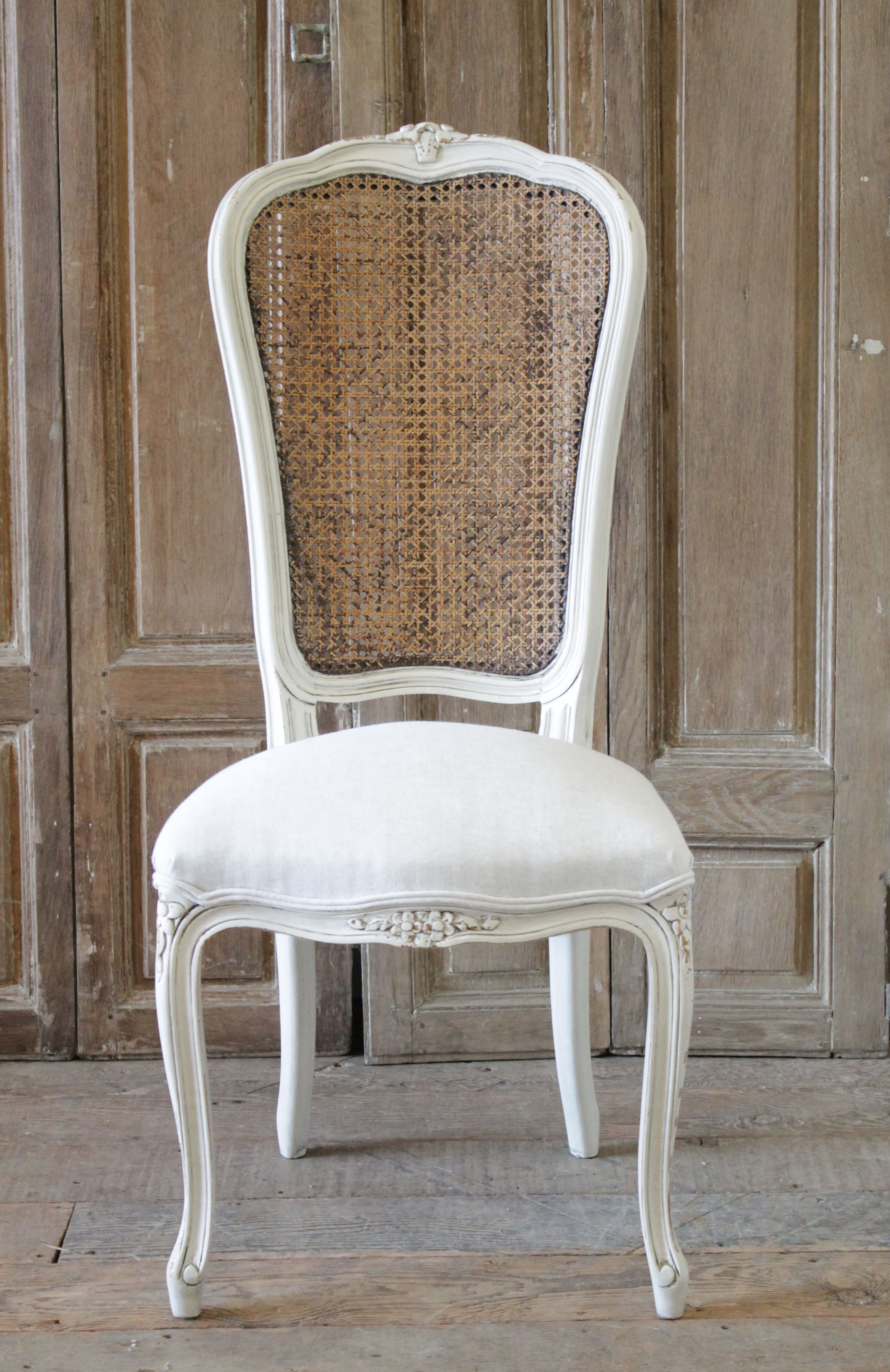 Superb 20Th Century French Country Style Cane Back Accent Chair Pabps2019 Chair Design Images Pabps2019Com