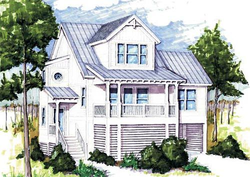 A Place in the Sun Coastal House Plans from Coastal Home Plans