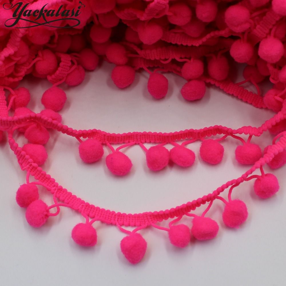 1965c399a8 Cheap pompon trim, Buy Quality pompon ribbon directly from China ...