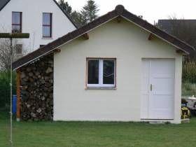 Construction d\'un abri de jardin en parpaing | Abri de ...