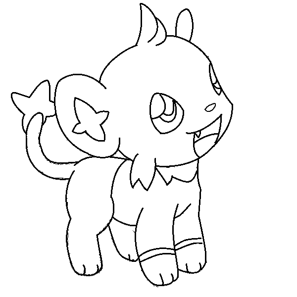 pokemon coloring pages shinx nicknames | Pin by spetri.4kids on Coloring 4 Kids: Pokemon | Coloring ...
