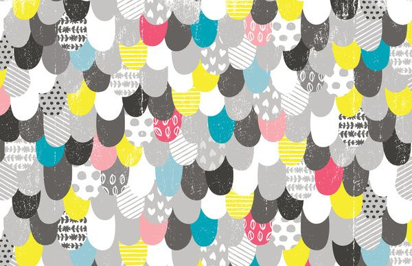 Kalliope collection of patterns by Val Smith, via Behance