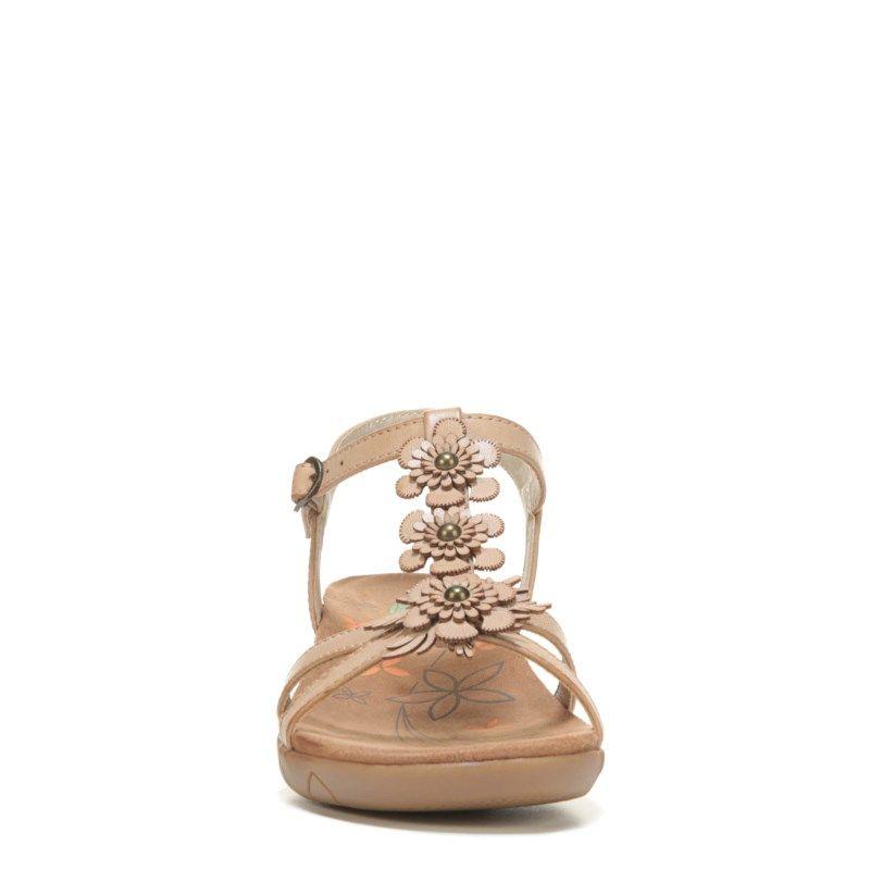 47e99d9b7eaf Bare Traps Women s Hammond Wedge Sandals (Tan) - 10.0 M