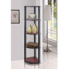 Beautiful 5 Tier Corner Rack Wall Shelves Storage Organizer Home Room Decor Display  Shelf