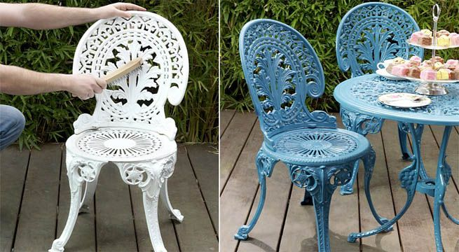 Pintar Los Muebles Terraza Muebles De Hierro Muebles Y