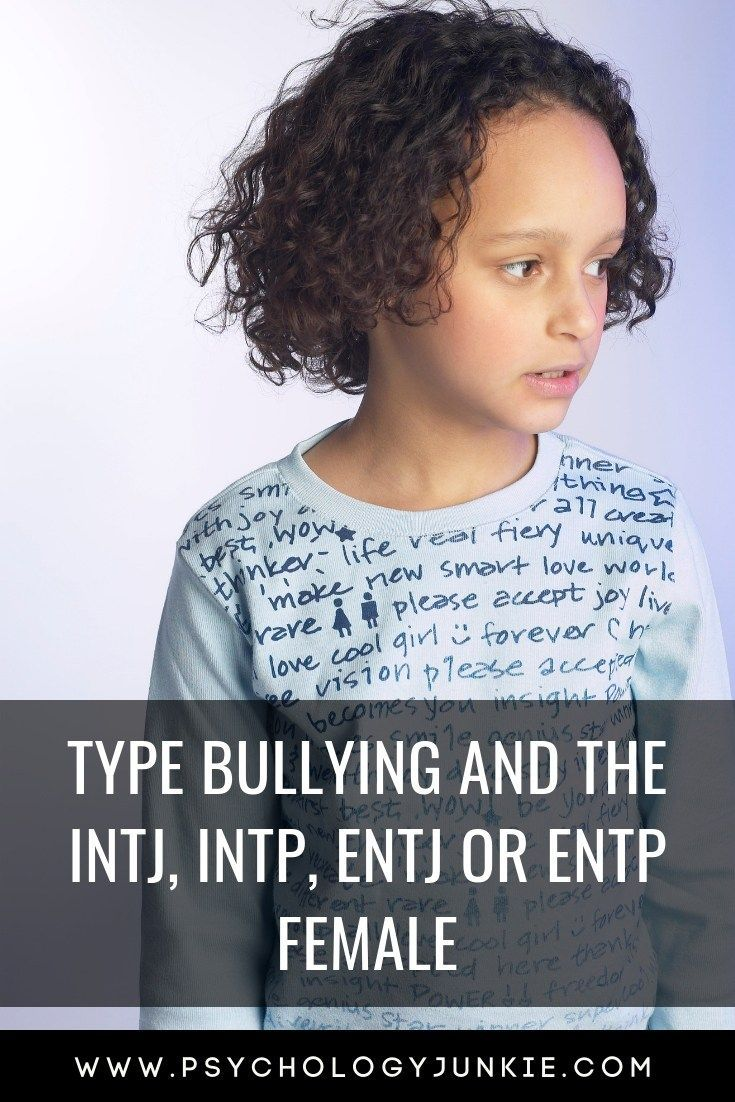 Type Bullying and the NT Girl - Tips for Parents of Female