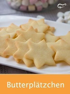 Photo of This simple recipe for butter cookies makes both small and large …