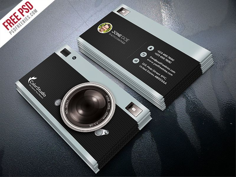 Freebie Photography Business Card Template Free Psd Photography Business Cards Template Photography Business Cards Photographer Business Card Template
