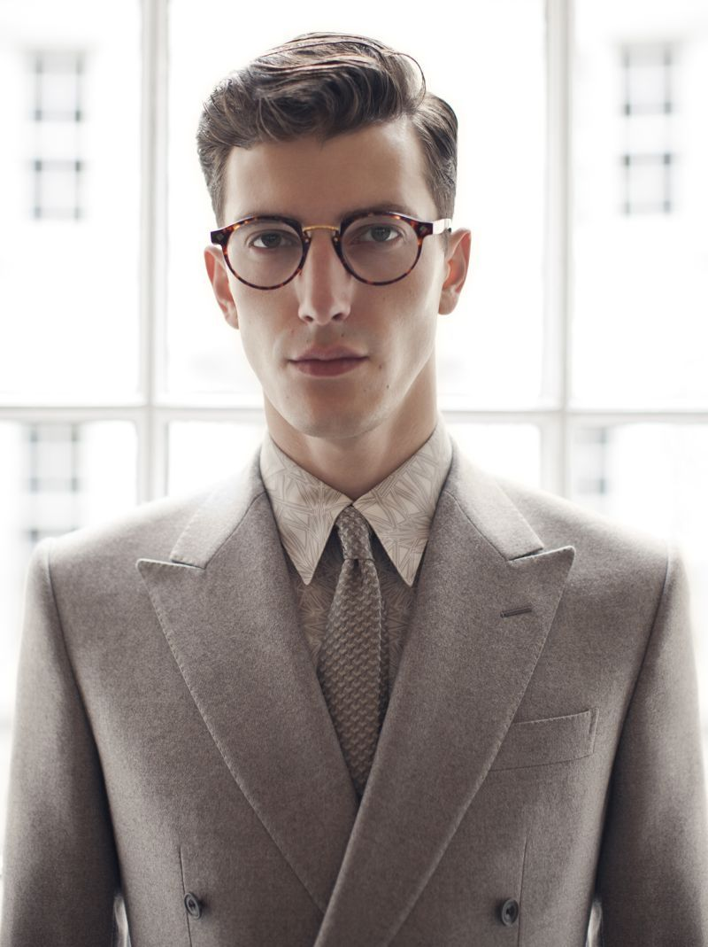 Hardy Amies Signature Eyewear Collection has a Classic Gentlemans Charm