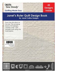80280 Westalee Ruler Quilt Design Ebook 51 Pages 45 Designs By