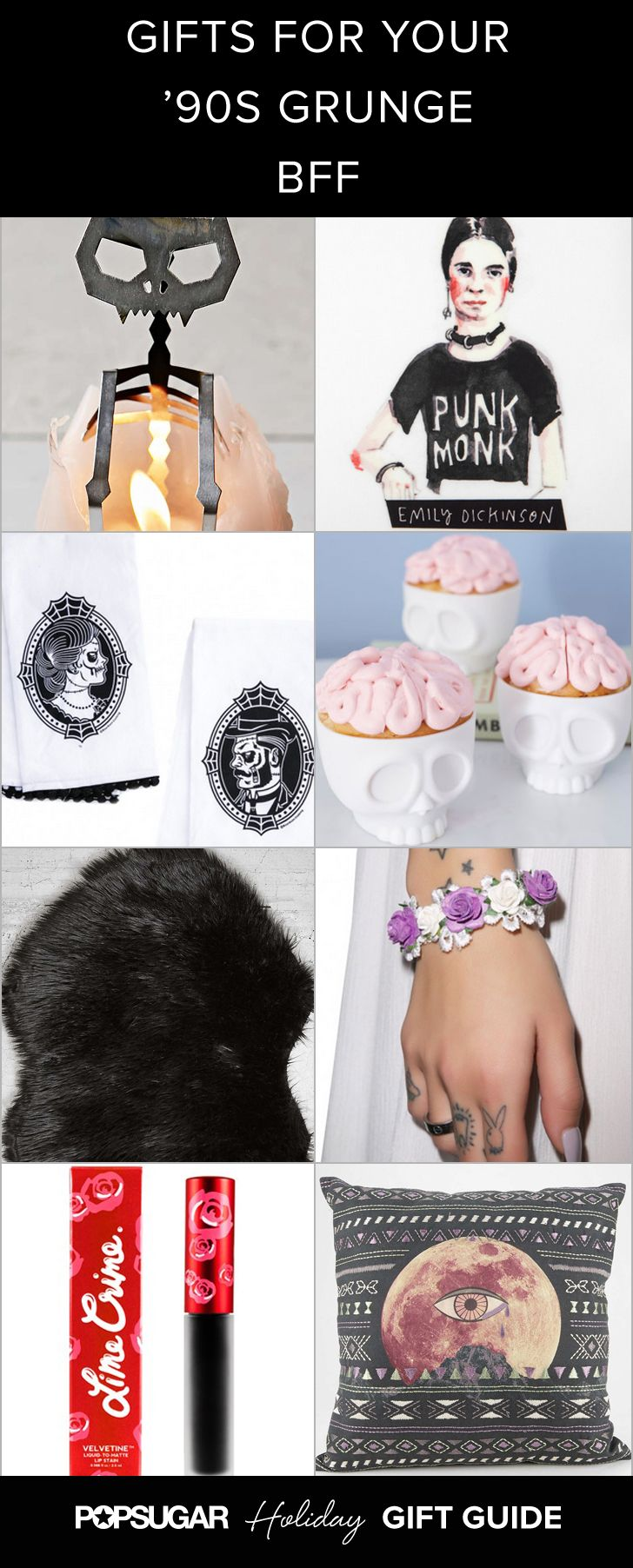 Gifts For Girls Who Love Grunge Like A Firstborn Child Grunge Girls Gift Guide Grunge Girl