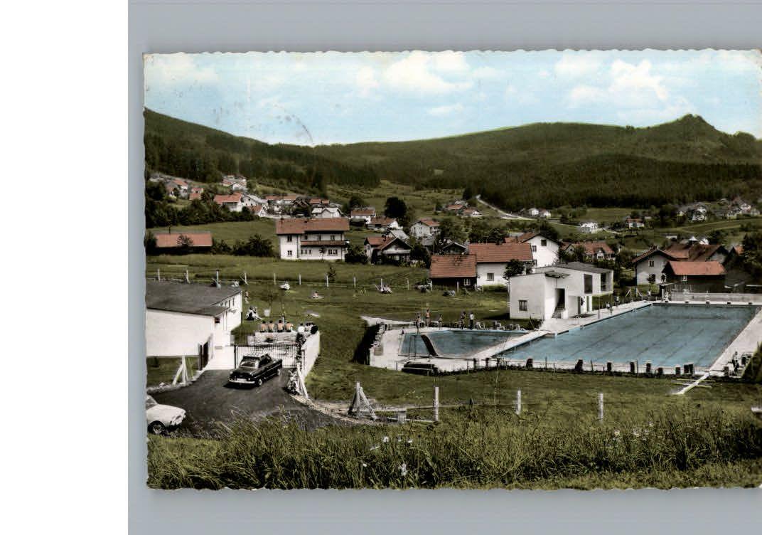 K169722 Bodenmais Schwimmbad Kat Bodenmais Postkarten Pinterest