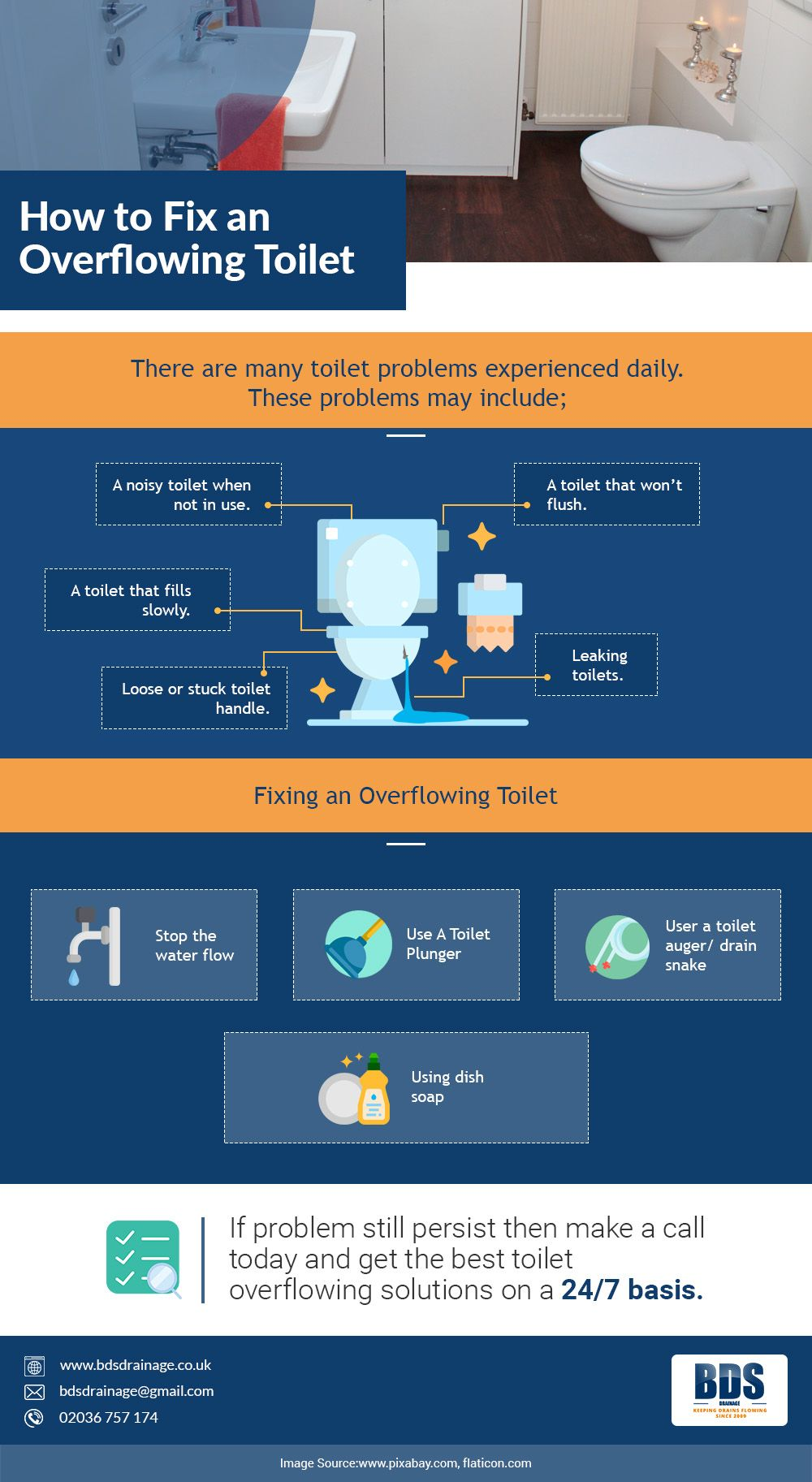 How to fix an overflowing toilet what to do if toilet is
