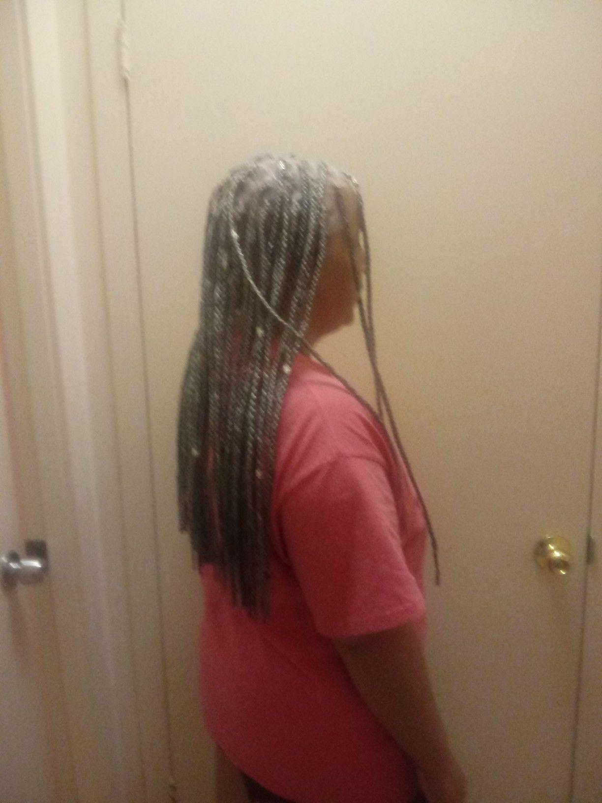 Box Braids On 2 Inch Hair Hair Styles Hair Appointment Hair