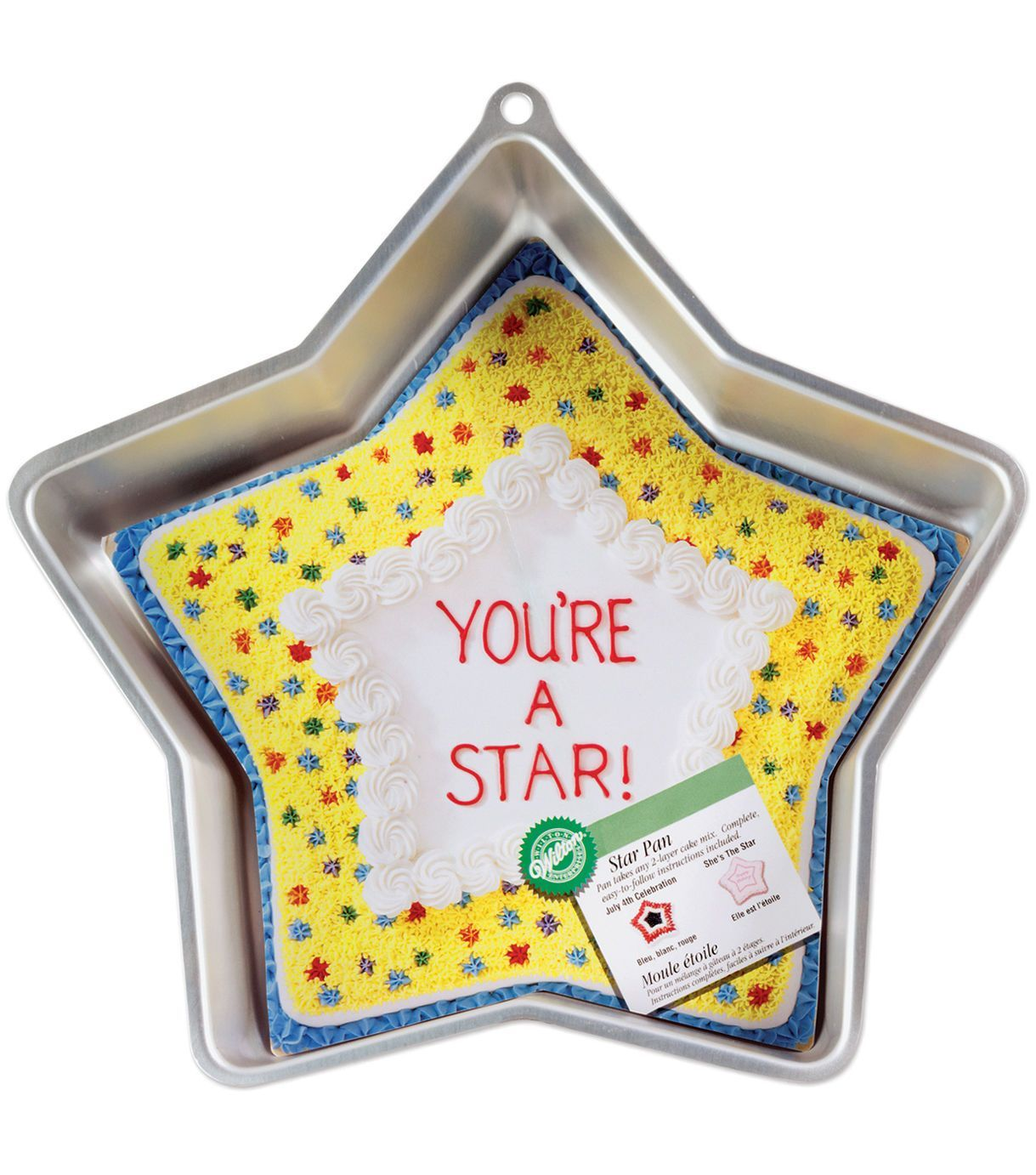 Wilton Cake Pan Novelty Star | Wilton cake pans and Products